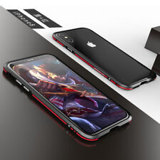 LUPHIE Luxury Aluminum Metal Bumper Frame Shockproof Case Cover For iPhone X 10