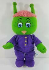 My Bedbugs green purple pajamas 13 inch plush stuffed animal doll toy 2006