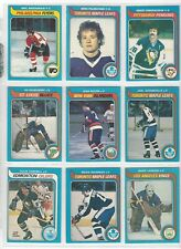 1979-80 O-Pee-Chee OPC FINISH YOUR SET VG to EX and better LOW SHIPPING Pick one