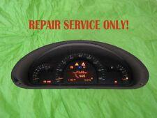 2035401648, Mercedes Instrument Cluster, W463 G320 G500 G55 DASH, Repair service