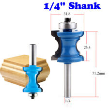 1/4'' Shank Bullnose Bead Column Face Molding Router Bit For Woodworking Tools