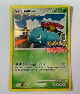 Venusaur 1/16 - Pokemon Rumble - 2009 Rare Promo Holo Foil Stamped Card - LP