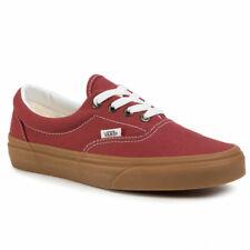 Vans Era Gum Rosewood Canvas Trainers UK 9 **Brand New In Box**