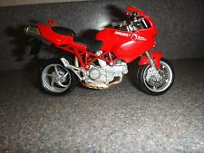 Ducati 1000 Ds~Model Bike Motorcycle~Red /White/Black/Silver~4.9 in x 3 in