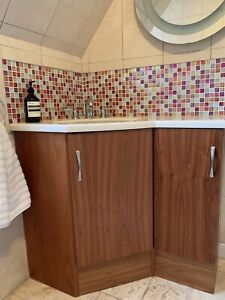 Villeroy & Boch Sink With Roper Rhodes Vanity And Toilet Unit, Mirror And Tops