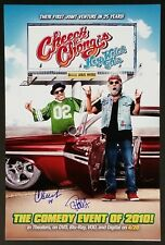 CHEECH AND CHONG SIGNED 12X18 HEY WATCH THIS MOVIE POSTER PHOTO W/COA