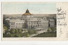 Library of Congress Washington DC 1905 U/B USA Postcard 510a