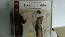 F. Scott Fitzgerald The Great Gatsby Abridged 2 CD Audio Book - 123/19
