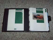 1995 Land Rover Discovery Owner Owner's Manual User Guide 4x4 3.9L V8
