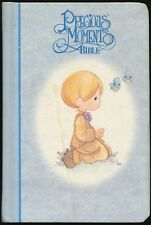 Precious Moments Blue Bible small size Illustrated Bible 1999