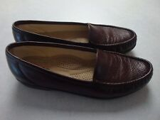 SAS Tripad Comfort Loafers Brown Leather Women Shoe Size 8 S~~CLEAN, DISPLAY