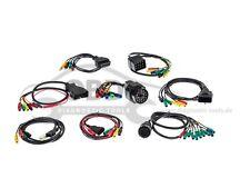 Bosch KTS Adapterkabel Set 8 Stück VAG MB BMW OPEL GM FIAT NEU