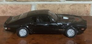1973  Pontiac Firebird Trans Am Die-cast Model BLACK MOTOR MAX BRAND NEW