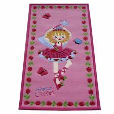 "Tapis "" Princesse LILLIFEE li2200-01 "" handtuft kinderpielteppich 80X150 NEUF"