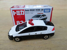 Takara Tomy No83  Honda Insight Patrol Car  Made in Vietnam 2009