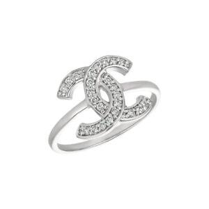 0.25 Carat Natural Diamond Pave Ring G SI 14K White Gold