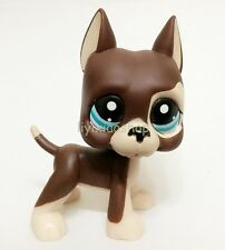 LPS Hasbro Littlest Pet Shop Collection Figure RARE Brown Great Dane Dog Puggy X