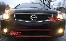 Fits 07-10 Nissan Sentra SE-R Lower Bumper Black Mesh Grille