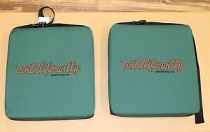 LOT 2 Wildlife Willy Hunting Stand Stadium Ball Game seat cushion pad chair NR