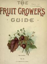 GROWING FRUIT - 220 BOOKS ON DVD - APPLES PEARS BERRIES FRUIT TREES GARDENING