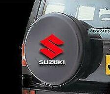 SUZUKI JIMNY / GRAND VITARA FLEXIBLE SPARE WHEEL COVER 4X4 BLACK WITH LOGO