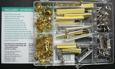 101pc Bar Pin Tie tack Finding Value Pack assortment Silver Gold AS002