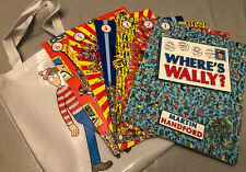 Where's Wally Amazing Adventures 6 Books And Bag Collection Set