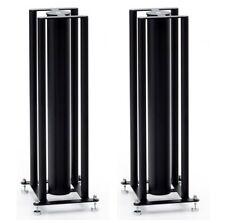 "Custom Design 24"" FS 104 Signature Speaker Stands (Black) (165x180 Top Plate)"