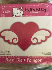 Sizzix Bigz Die Hello Kitty Heart and Wings by Sanrio