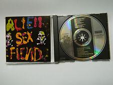 CD  Alien Sex Fiend – The First Compact Disc  + POSTER