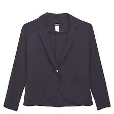 Perseption Petite Womens Black Blazer Jacket Wear To Work Size SP