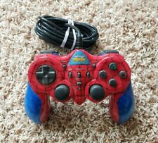 Dual Shock 2 Spiderman Sony PS2 Controller by Naki RARE WITH TURBO & SLOW