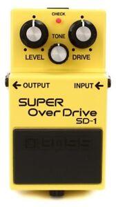 BOSS SD-1 / Super Over Drive BRAND NEW Guitar Effect Pedal