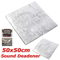 50cmx50cm Sound Deadener Car Heat Shield Insulation Deadening Material Mat 10mm