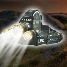 Hunting 13000LM XM-L L2+2R5 LED Headlamp headlight Zoomable fishing Torch Lamp