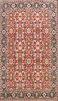 9x12 Geometric Heriz Serapi Oriental Area Rug Hand-knotted Vegetable Dye Carpet