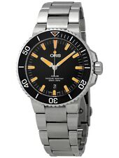 Oris AQUIS Black DATE MENS Steel  43mm DIVERS WATCH RRP $3250  SELLING in AUST