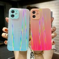 Shockproof Bling Tempered Glass Case Cover For iPhone 11 12 Pro Max XS XR 7 8+