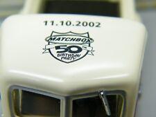 Matchbox MoY C2 YTC-04 Reo Speedwagon Leipzig 11.10.02 - seltenes Modell OVP K11