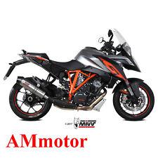 Mivv Ktm 1290 Superduke Gt 2016 Terminale Scarico Oval Titanio Carbon Cap Moto