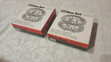 Two (x2) Jobo duo set 2502 Developing spirals 35 / 60 mm (New)