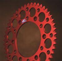 Renthal Honda Ultralight Red 49T Rear Sprocket CR CRF XR 125 250 450 500 Chain F