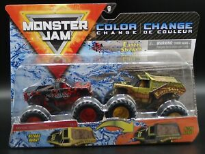 2020 SPIN MASTER MONSTER JAM MIX 11 NORTHERN NIGHTMARE EARTH SHAKER COLOR CHANGE