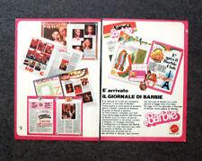 K823-Advertising Pubblicità-1982- E' ARRIVATO IL GIORNALE DI BARBIE