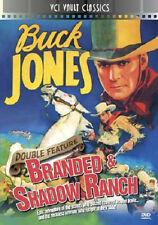 BUCK JONES Oeste Double Feature Vol.1: Branded (1931) & Shadow RANCH (1930)