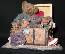 Cottage Collectibles by Ganz - Bears in Steamer Trunk