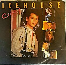 Icehouse-Crazy/ No Promises (live)-vinyl 45-mint