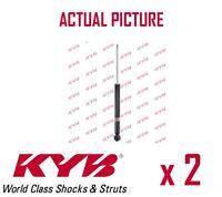 2 x NEW KYB REAR AXLE SHOCK ABSORBERS PAIR STRUTS SHOCKERS OE QUALITY 552700