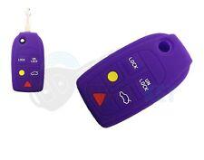 Volvo Folding Key Silicone Case S40 v40 S60 S80 V70 XC70 XC90 Purple