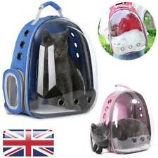 Pet Outdoor Carrier Backpack Cat Dog Puppy Travel Space Capsule Shoulder Bag UK